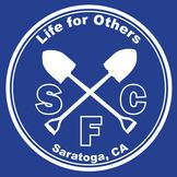 serve sunday logo.white on blue